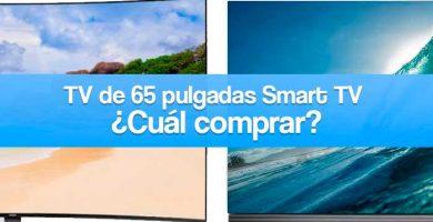 qué televisor de 65 pulgadas smart tv comprar